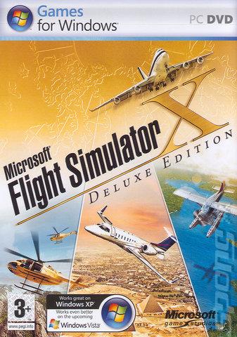 microsoft flight simulator x deluxe edition patch