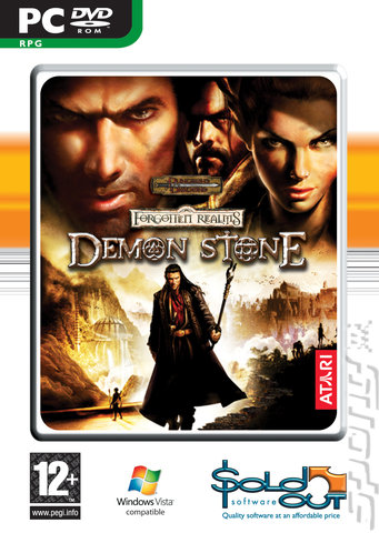 Forgotten Realms: Demon Stone - PC Cover & Box Art