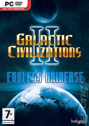 Galactic Civilizations II: Endless Universe - PC Cover & Box Art