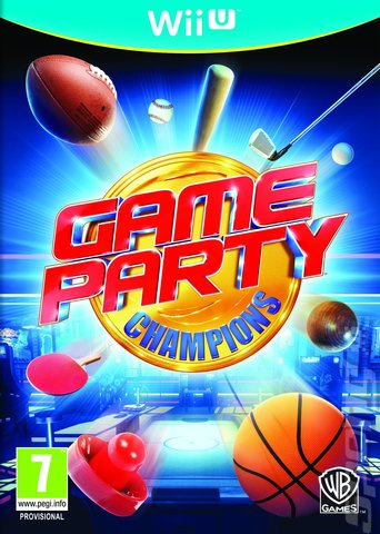 Game Party Champions - Wii U Cover & Box Art