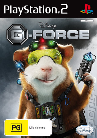 G-Force - PS2 Cover & Box Art