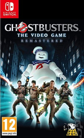 Ghostbusters: The Video Game: Remastered - Switch Cover & Box Art