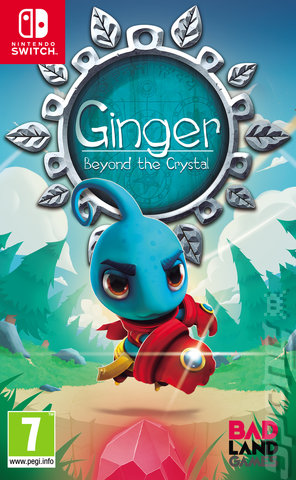 Ginger: Beyond The Crystal - Switch Cover & Box Art