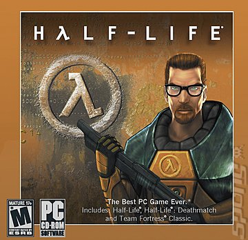 Covers & Box Art: Half-Life - PC (1 of 3)