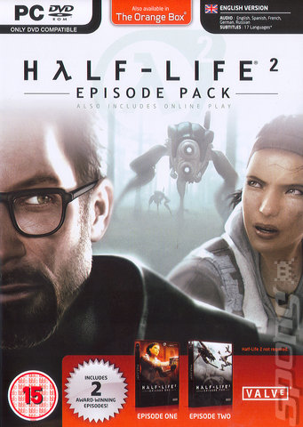 Half Life 2: Episode Pack - PC Cover & Box Art