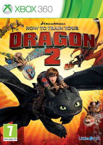 How to Train Your Dragon 2 - Xbox 360 Cover & Box Art