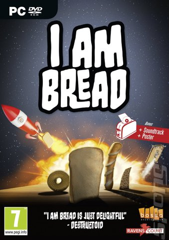 I Am Bread - PC Cover & Box Art