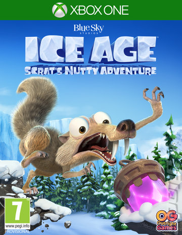 Ice Age: Scrat's Nutty Adventure - Xbox One Cover & Box Art