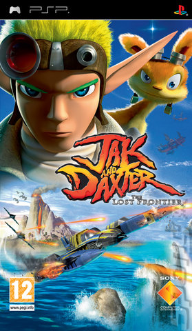 Jak and Daxter: The Lost Frontier - PSP Cover & Box Art