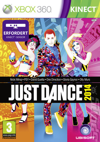 Just Dance 2014 - Xbox 360 Cover & Box Art