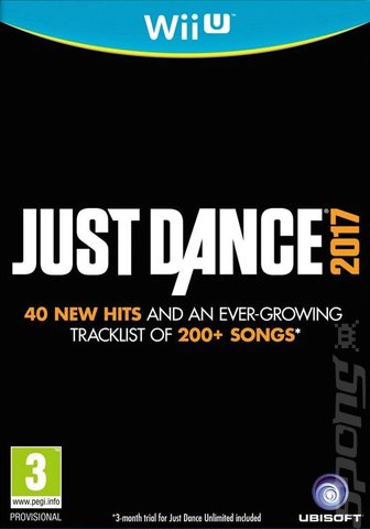 Just Dance 2017 - Wii U Cover & Box Art