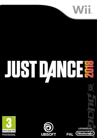 Just Dance 2018 - Wii Cover & Box Art