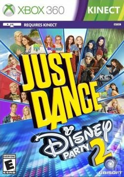 Just Dance: Disney Party 2 - Xbox 360 Cover & Box Art