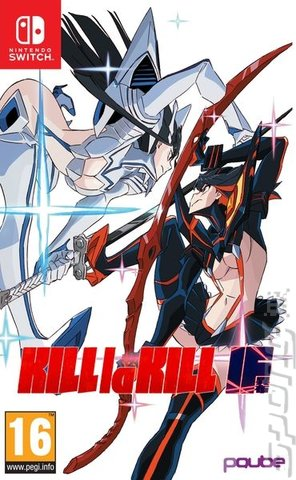 KILL la KILL – IF - Switch Cover & Box Art