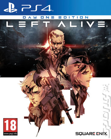 Left Alive - PS4 Cover & Box Art