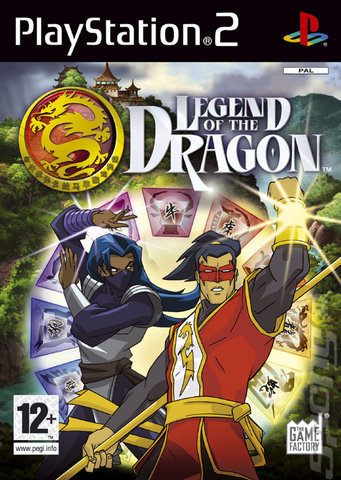 Legend of the Dragon - PS2 Cover & Box Art