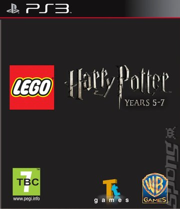 LEGO Harry Potter: Years 5-7 - PS3 Cover & Box Art