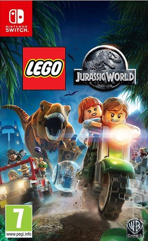 LEGO Jurassic World - Switch Cover & Box Art