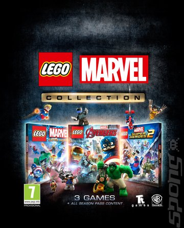 LEGO Marvel Collection - Xbox One Cover & Box Art