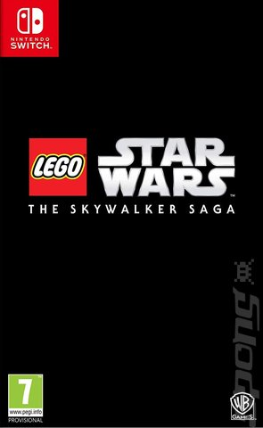 LEGO Star Wars: The Skywalker Saga - Switch Cover & Box Art