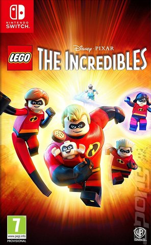 LEGO The Incredibles - Switch Cover & Box Art