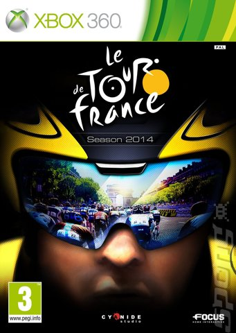 le Tour de France: Season 2014 - Xbox 360 Cover & Box Art