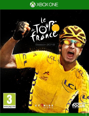 le Tour de France: Season 2018 - Xbox One Cover & Box Art