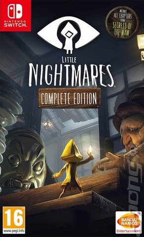 Little Nightmares: Complete Edition - Switch Cover & Box Art
