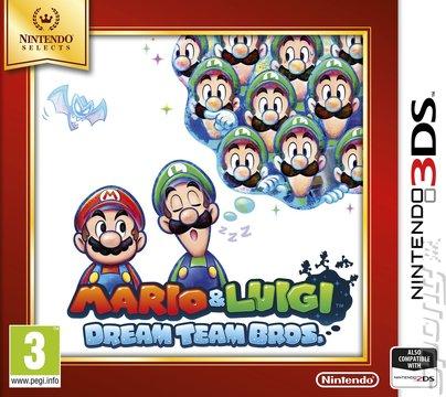 Covers Box Art Mario Luigi Dream Team Bros 3ds 2ds 1 Of 2