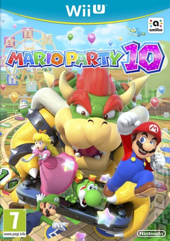Mario Party 10 - Wii U Cover & Box Art