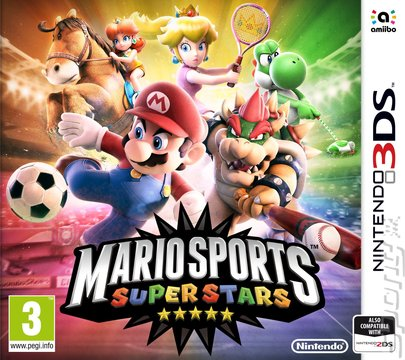 Mario Sports Superstars - 3DS/2DS Cover & Box Art
