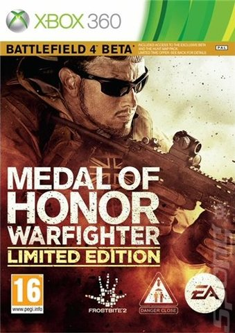 Medal of Honor: Warfighter - Xbox 360 Cover & Box Art