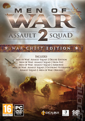 Men of War: Assault Squad 2: War Chest Edition - PC Cover & Box Art