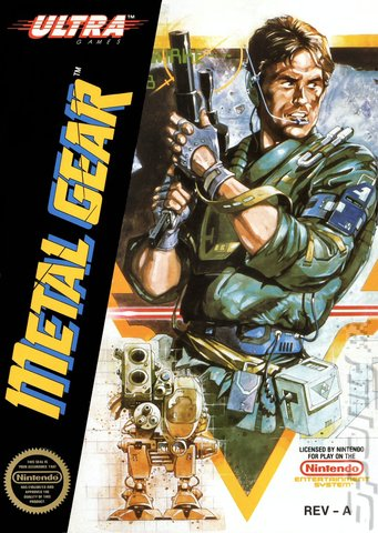 Metal Gear - NES Cover & Box Art