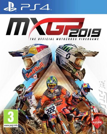 MXGP 2019 - PS4 Cover & Box Art
