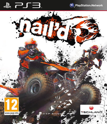 Nail'd - PS3 Cover & Box Art
