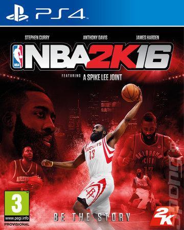 NBA 2K16 - PS4 Cover & Box Art