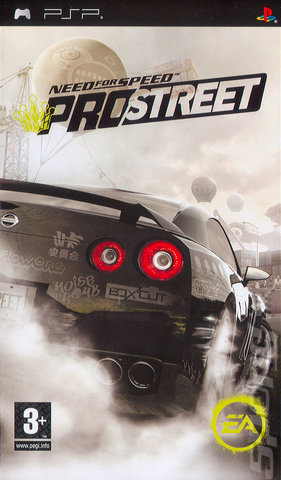 Need For Speed: ProStreet - PSP Cover & Box Art