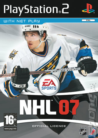 NHL 07 - PS2 Cover & Box Art