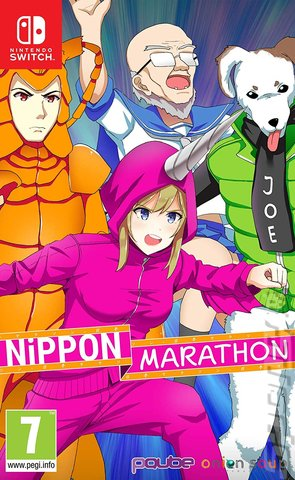 Nippon Marathon - Switch Cover & Box Art