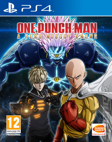 One Punch Man: A Hero Nobody Knows - PS4 Cover & Box Art