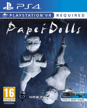 Paper Dolls - PS4 Cover & Box Art