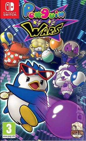 Penguin Wars - Switch Cover & Box Art