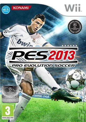 PES 2013 - Wii Cover & Box Art