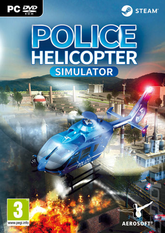 Police Helicopter Simulator - PC Cover & Box Art