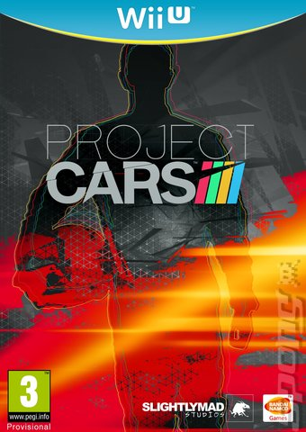 Project CARS - Wii U Cover & Box Art