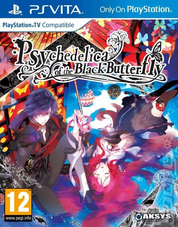 Psychedelica of the Black Butterfly - PSVita Cover & Box Art