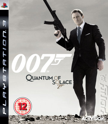 Quantum of Solace - PS3 Cover & Box Art