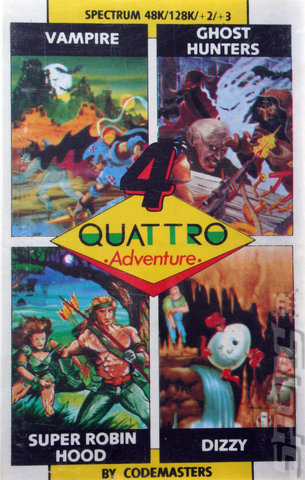 Quattro: Adventure - Spectrum 48K Cover & Box Art