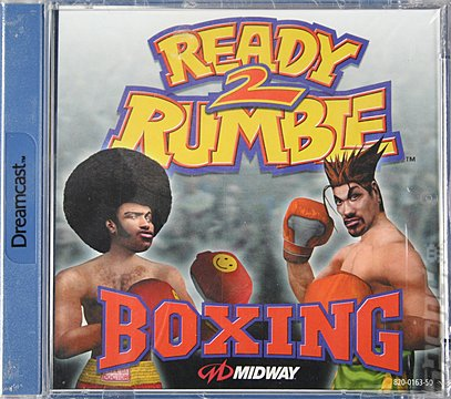 Ready 2 Rumble Boxing - Dreamcast Cover & Box Art